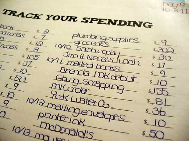track of your spending